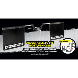 Rock Tamers Mudflap System - Accessories