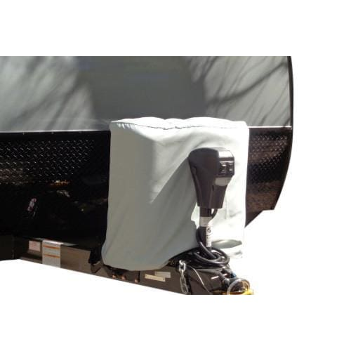 RV Propane Tank Covers by Carver Industries - 20 LB Dual Propane Tank / (2) 5 Gallon - Propane Tank Cover