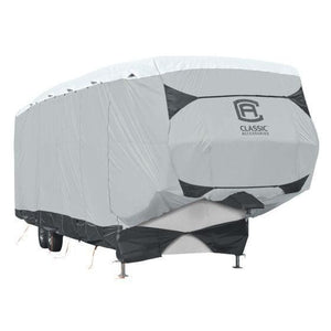 SkyShield 5th Wheel Cover / 5th Toy Hauler Covers by Classic Accessories - 20-23 Model 1 - 5th Wheel & Toy Hauler