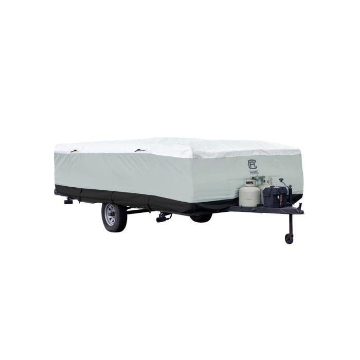Fit 10-12 Trailer Pop Up Tent Trailer Cover