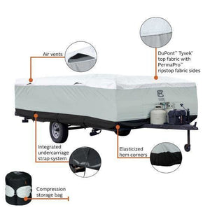 Skyshield Pop Up Camper Cover by Classic Accessories - Pop Up Trailer