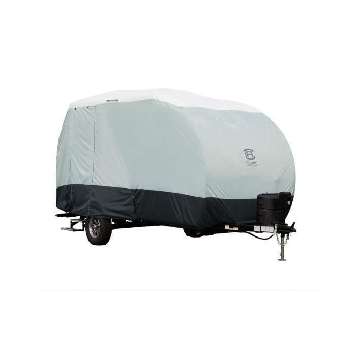 SkyShield R Pod Travel Trailer Camper Cover by Classic Accessories - Travel Trailer