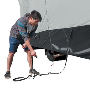 SkyShield Travel Trailer Cover / Travel Trailer Toy Hauler Cover by Classic Accessories - Toy Hauler