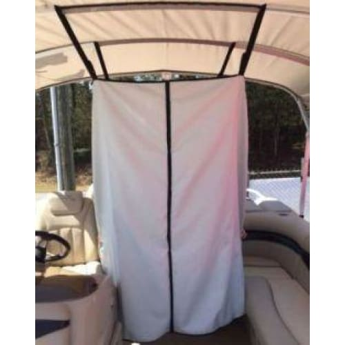 Universal Boat Bimini Top 60 Adjustable Privacy Curtain Changing Room - Accessories