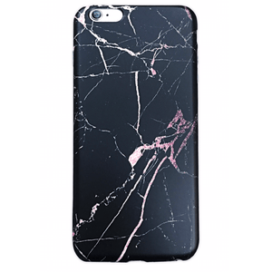 BLACK AND ROSE MARBLE CASE
