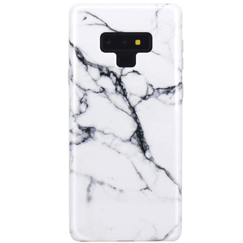 Black And White Marble Samsung Note Case  - CASES A LA MODE