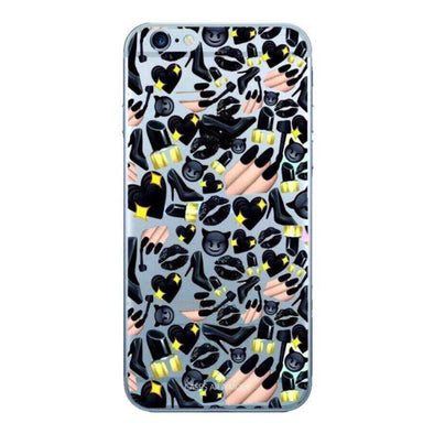 Black Glam Phone Case IPHONE 6/S - CASES A LA MODE