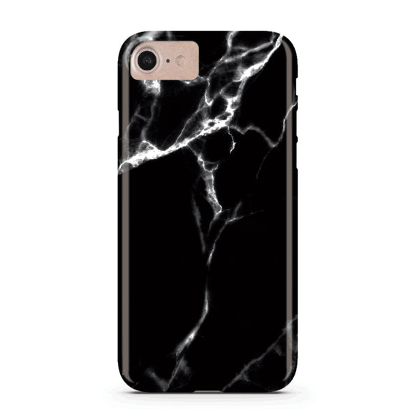 Black Marble iPhone Case IPHONE 12 PRO/IPHONE 12 - CASES A LA MODE