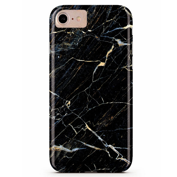 Black Storm Marble iPhone Case IPHONE 6/S - CASES A LA MODE