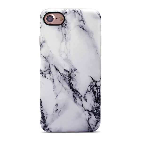 Black Thunder Marble iPhone Case  - CASES A LA MODE