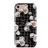 Black Vintage Floral iPhone Case  - CASES A LA MODE