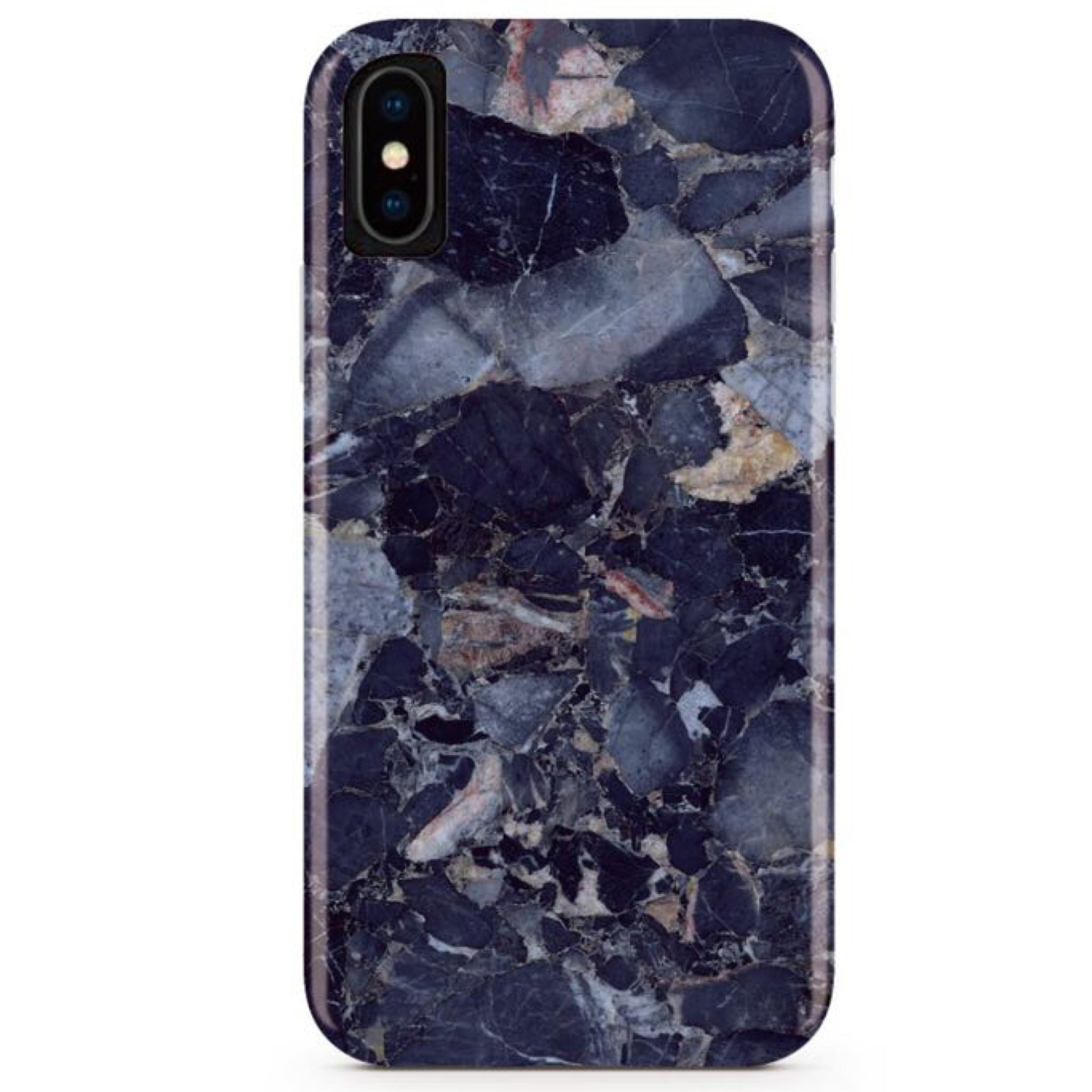 Blue Shattered Marble iPhone Case IPHONE X/XS - CASES A LA MODE