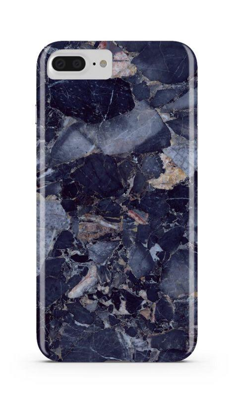Blue Shattered Marble iPhone Case IPHONE 6/S PLUS - CASES A LA MODE