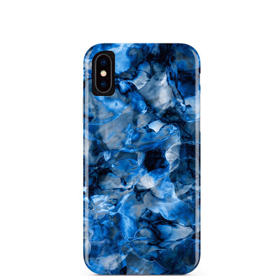 Blue Waters Marble iPhone Case  - CASES A LA MODE