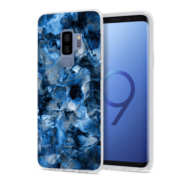 Blue Waters Marble Samsung Phone Case GALAXY S9 PLUS - FINAL SALE - CASES A LA MODE