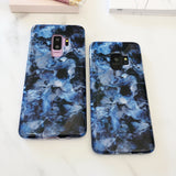 Blue Waters Marble Samsung Phone Case  - CASES A LA MODE