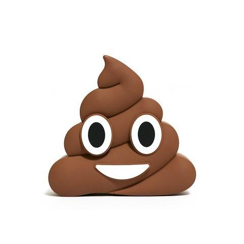 Brown Poop Emoji Portable Charger  - CASES A LA MODE