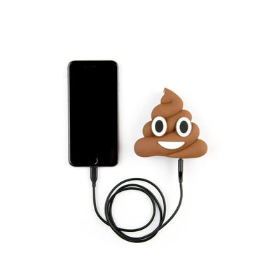 BROWN POOP POWER BANK CHARGER - CASES A LA MODE