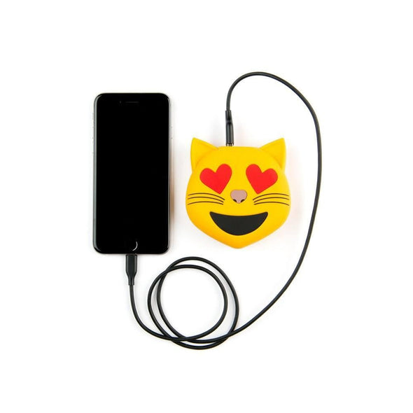 CAT HEART EYES POWER BANK CHARGER - CASES A LA MODE