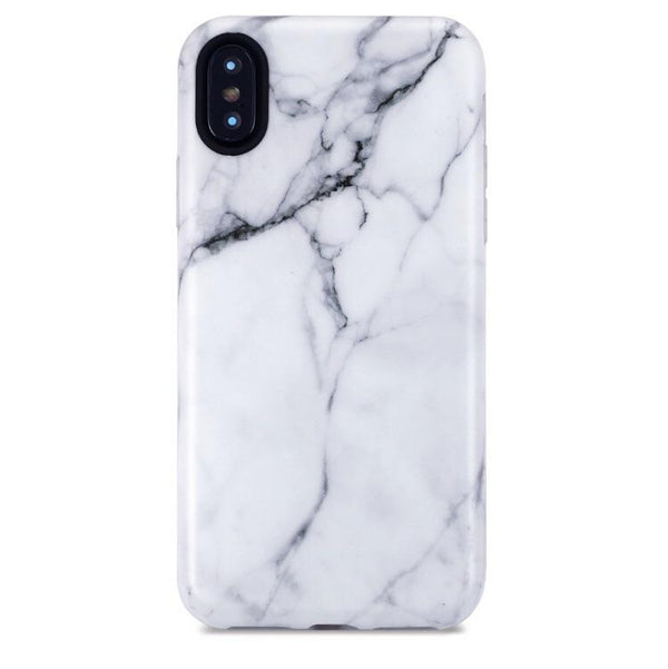 Classic White Marble iPhone Case  - CASES A LA MODE