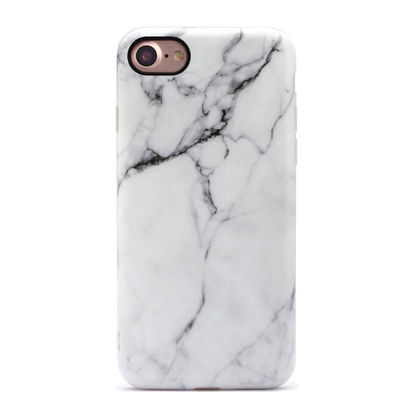 Classic White Marble iPhone Case IPHONE 7 - CASES A LA MODE