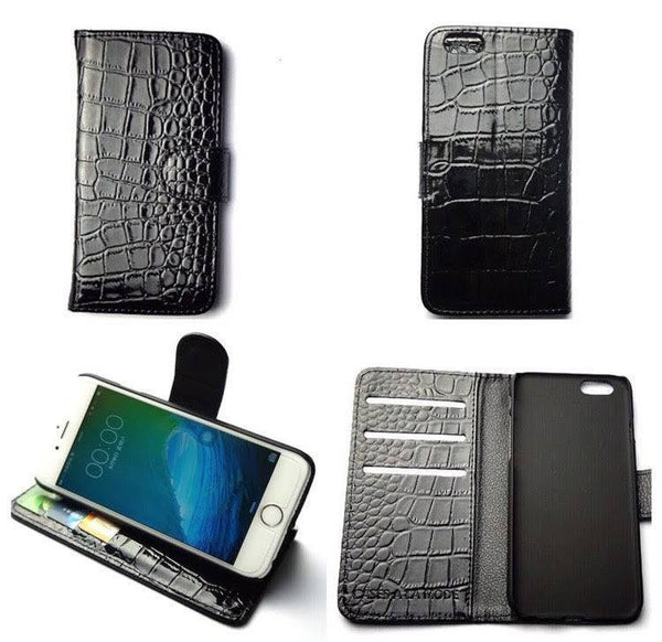 Croc Wallet Phone Case  - CASES A LA MODE