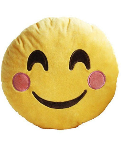 EMOJI PILLOW BLUSHING - CASES A LA MODE