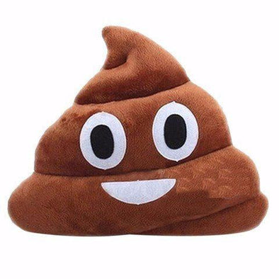 EMOJI PILLOW POOP - CASES A LA MODE