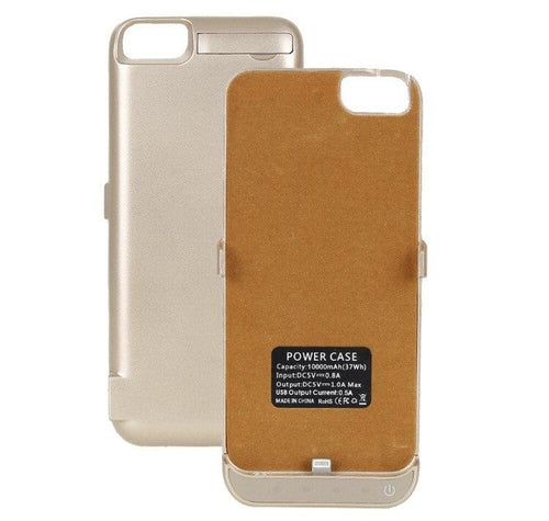 Gold Battery iPhone Case  - CASES A LA MODE