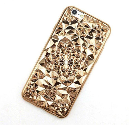 Gold Tropix iPhone Case  - CASES A LA MODE