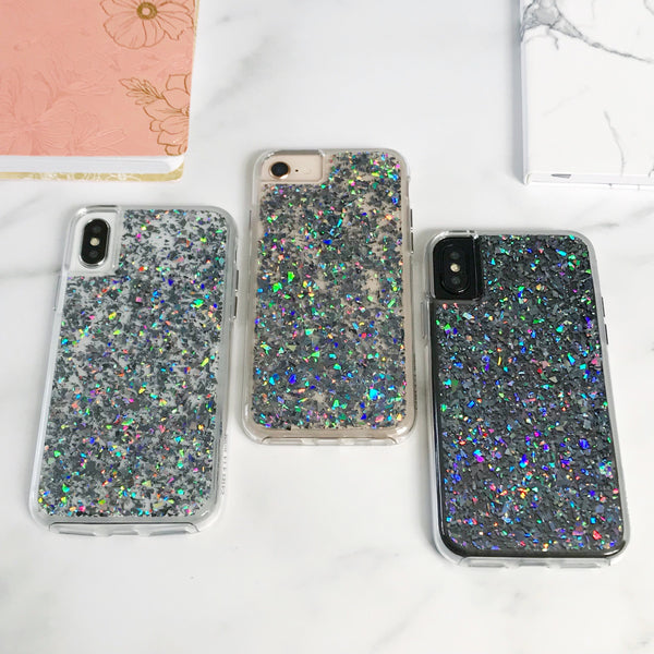 Holo Flakes Dual Layer iPhone Case  - CASES A LA MODE
