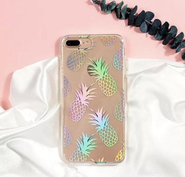 Holo Pineapple iPhone Case  - CASES A LA MODE