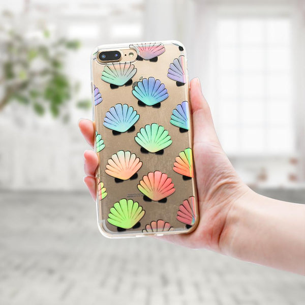 Holo Seashell iPhone Case  - CASES A LA MODE