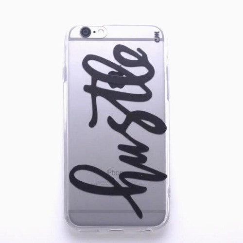 Hustle Black iPhone Case  - CASES A LA MODE