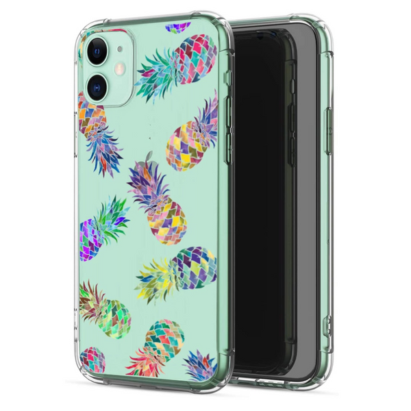 Colorful Pineapple iPhone Case  - CASES A LA MODE