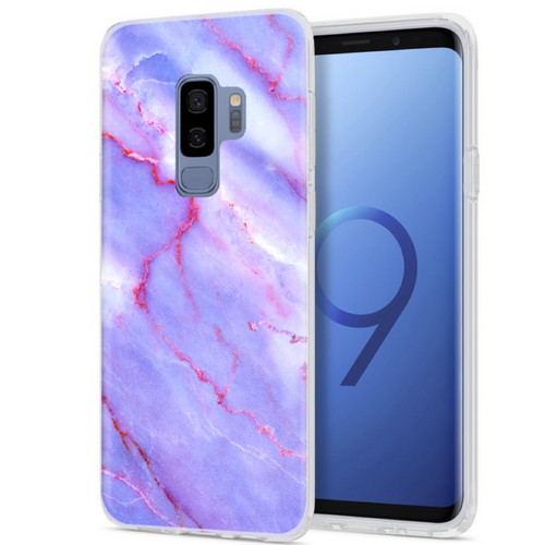 Purple Sky Marble Samsung Case GALAXY S9 - FINAL SALE - CASES A LA MODE