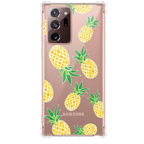 Pineapple Samsung Clear Case  - CASES A LA MODE
