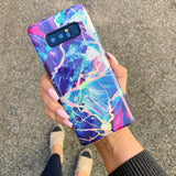 Majestic Holo Marble Samsung Case  - CASES A LA MODE