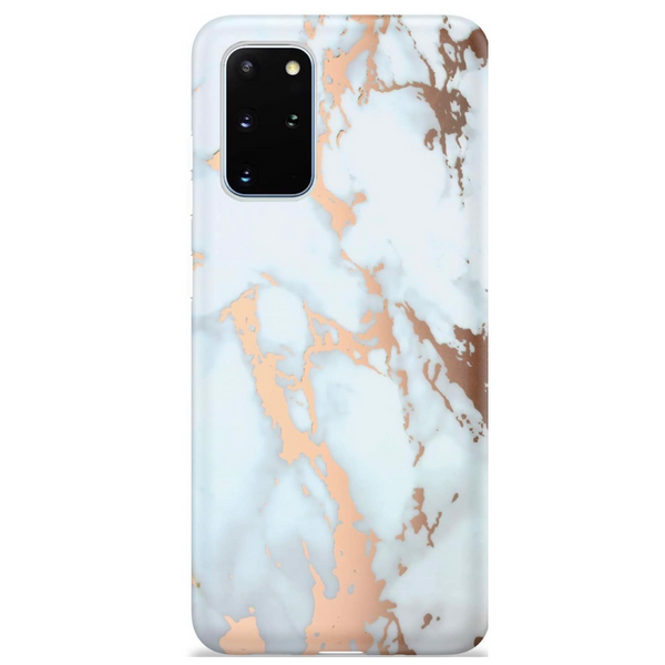 Rose Gold Marble Samsung Case  - CASES A LA MODE
