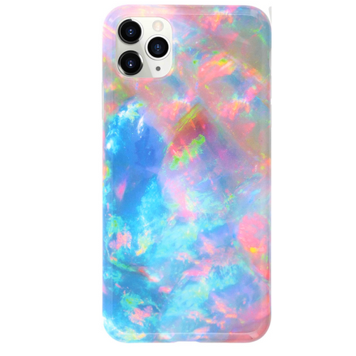 Opal Marble iPhone Case  - CASES A LA MODE
