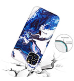 Blue Milky Way Marble iPhone Case  - CASES A LA MODE