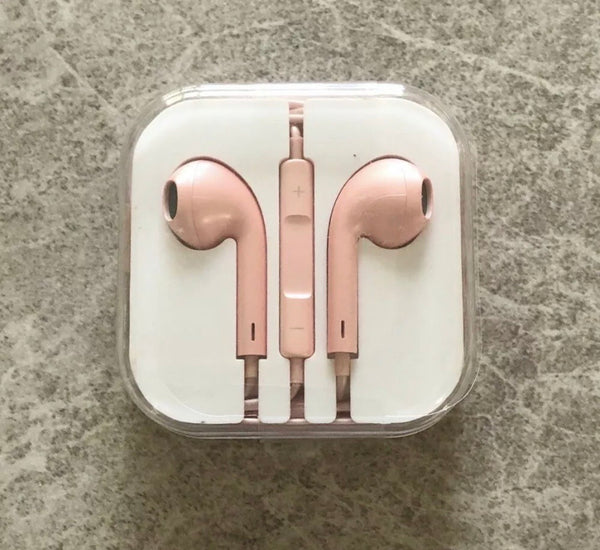 Rose Gold Ear Phones  - CASES A LA MODE