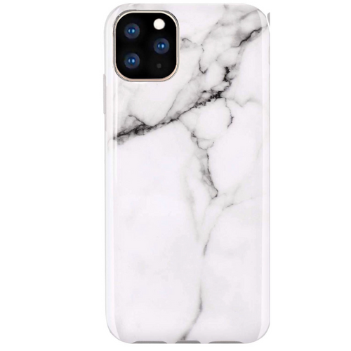 Classic White Marble iPhone Case IPHONE 11 PRO MAX - CASES A LA MODE
