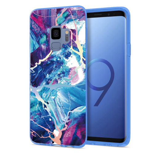 Majestic Holo Marble Samsung Case GALAXY S9 - CASES A LA MODE