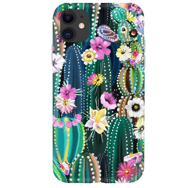 Colorful Cactus iPhone Case  - CASES A LA MODE