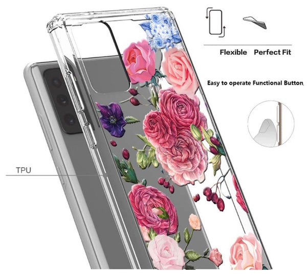 Pink Floral Samsung Case  - CASES A LA MODE