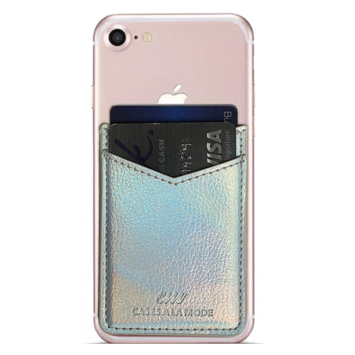 Silver Holo Glam Pocket  - CASES A LA MODE
