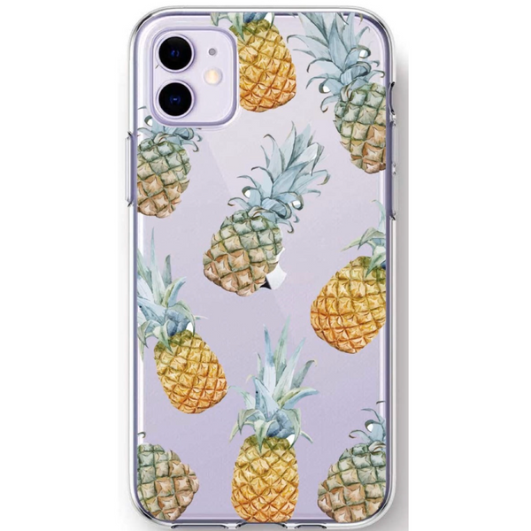Pineapple Clear iPhone Case  - CASES A LA MODE