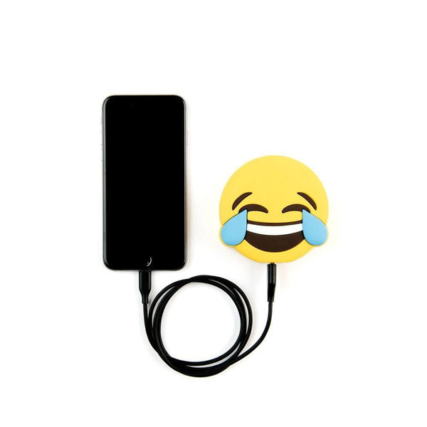 Laughing With Tears Emoji Portable Charger  - CASES A LA MODE