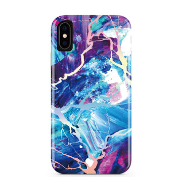 Majestic Holo Marble iPhone Case IPHONE X/XS - CASES A LA MODE